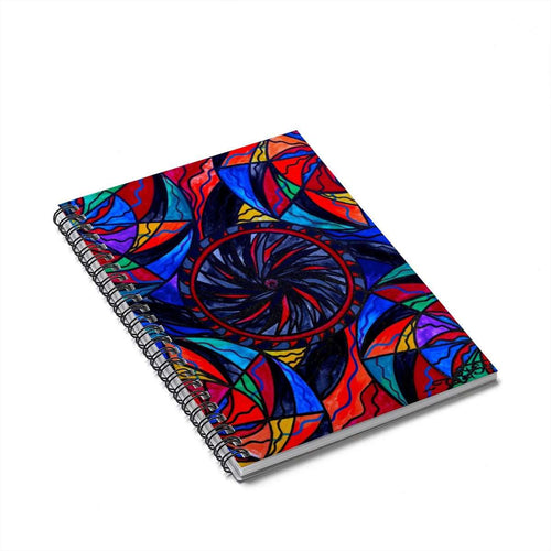 Transforming Fear - Spiral Notebook