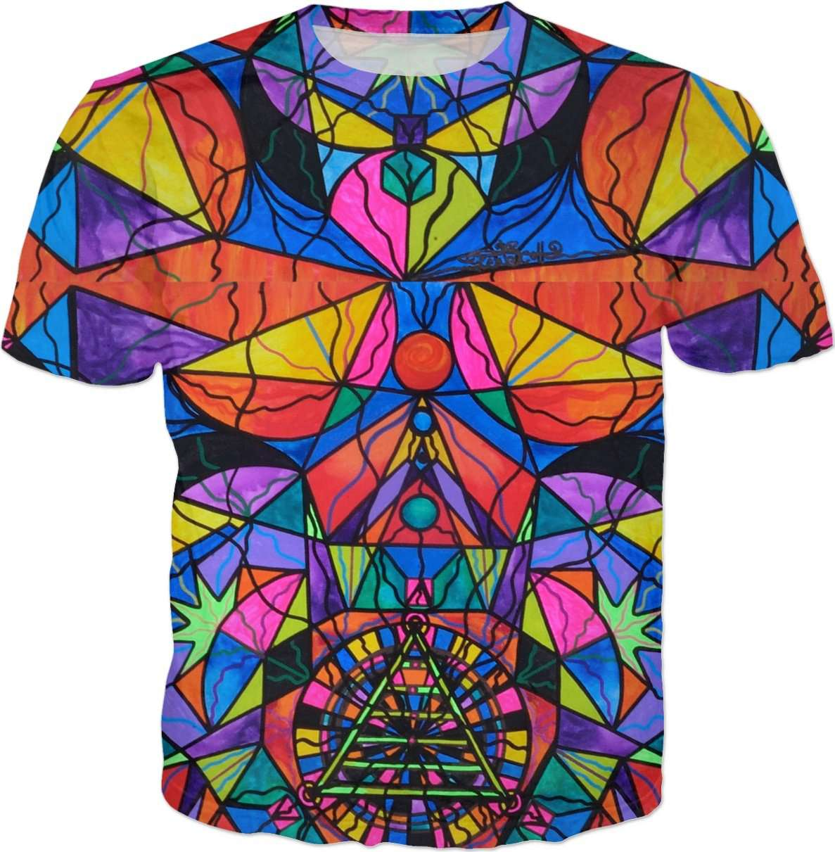 Triune Transformation Tiled - Men's T-shirt