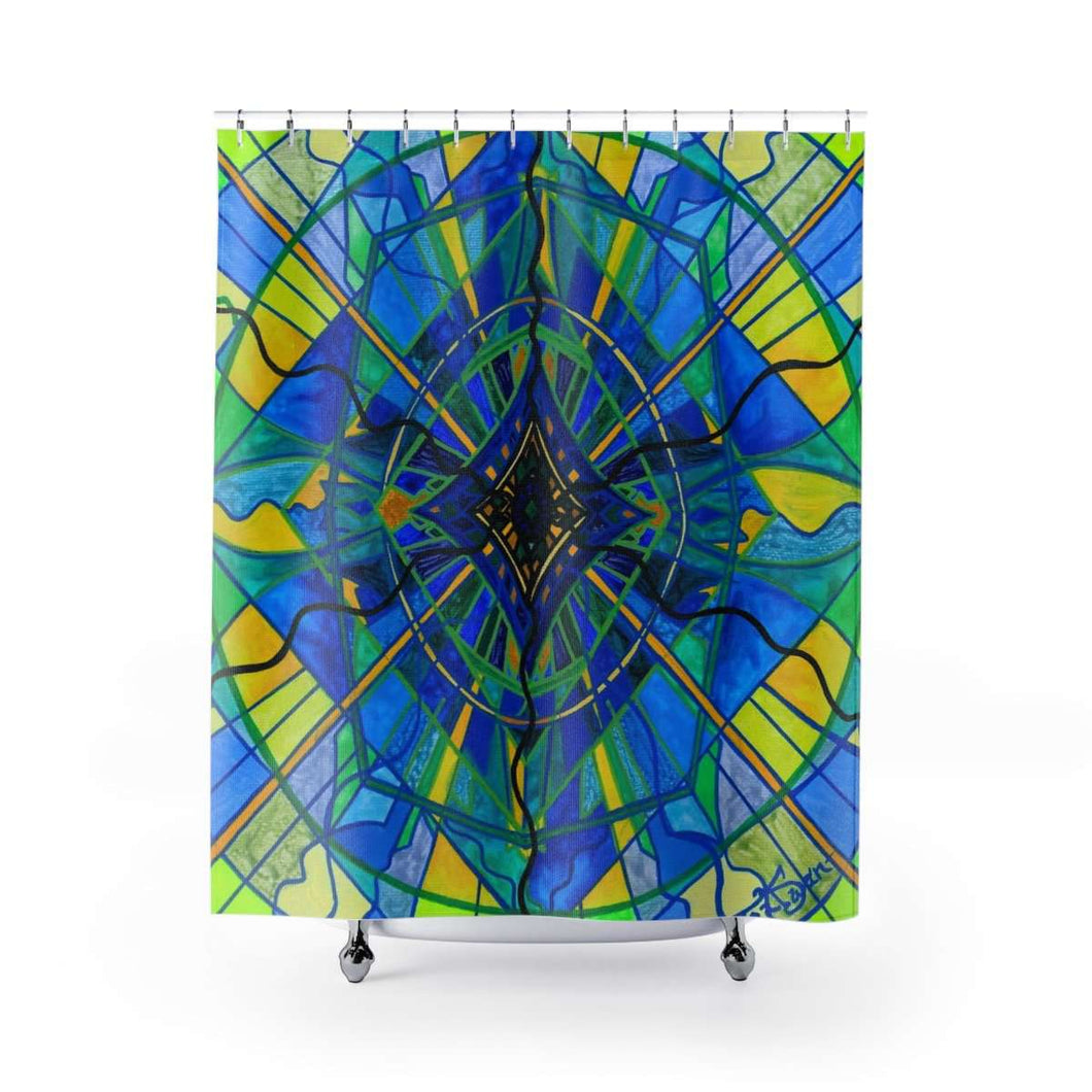 Emotional Expression - Shower Curtains
