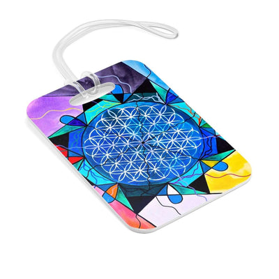 The Flower of Life - Bag Tag