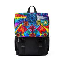 Load image into Gallery viewer, Speak From The Heart - Unisex Casual Shoulder Backpack