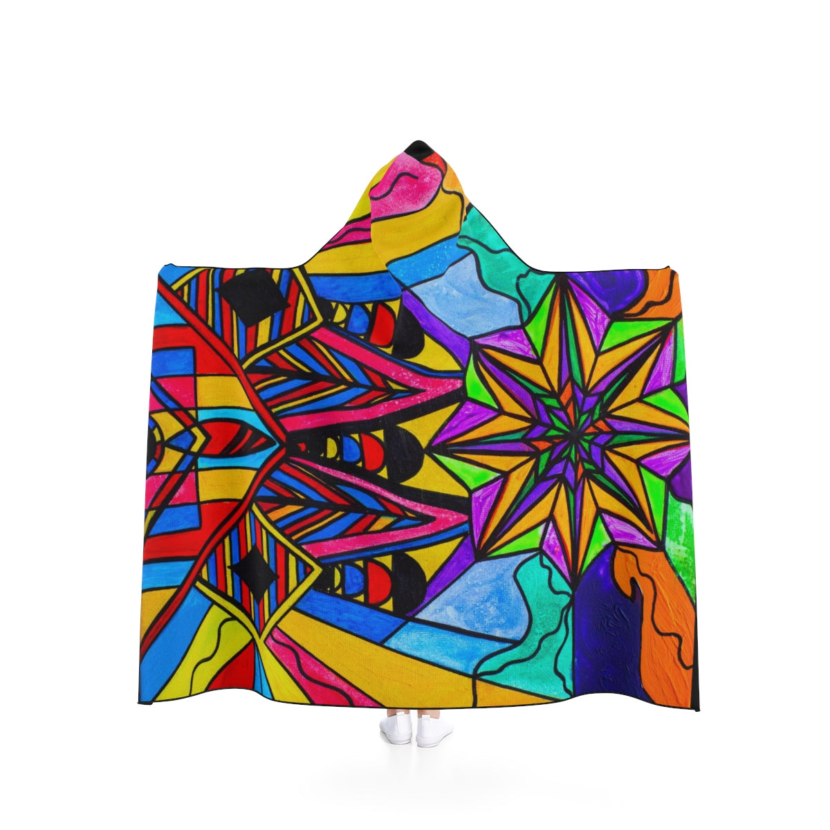 A Change In Perception - Hooded Blanket