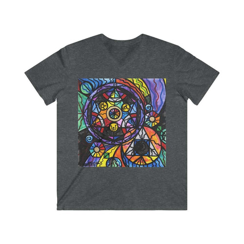 Alchemy - Men's Fitted V-Neck Short Sleeve Tee