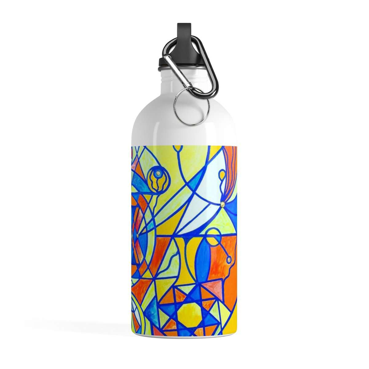 Happiness Pleiadian Lightwork Model - Stainless Steel Water Bottle