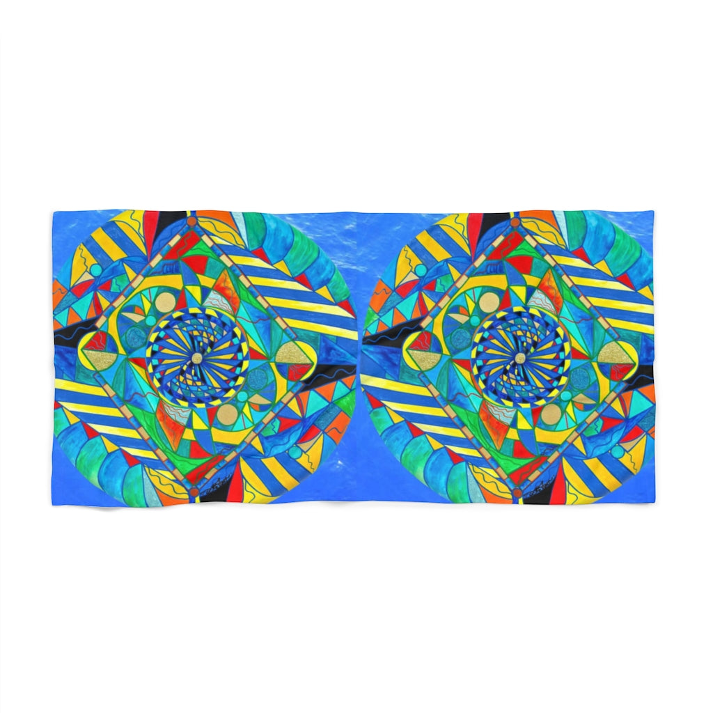 Ascended Reunion - Beach Towel