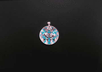 Arcturian Healing Lattice Pendant
