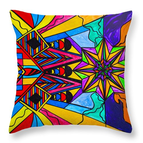 A Change In Perception - Throw Pillow