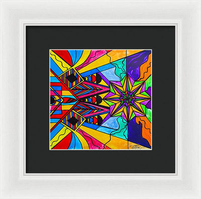 A Change In Perception - Framed Print