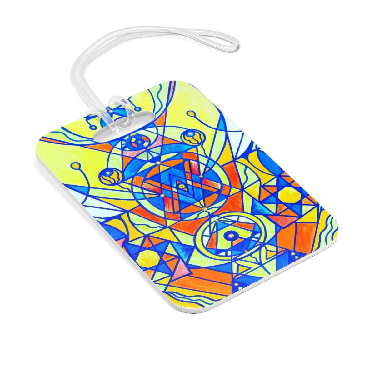 Happiness Pleiadian Lightwork Model - Bag Tag