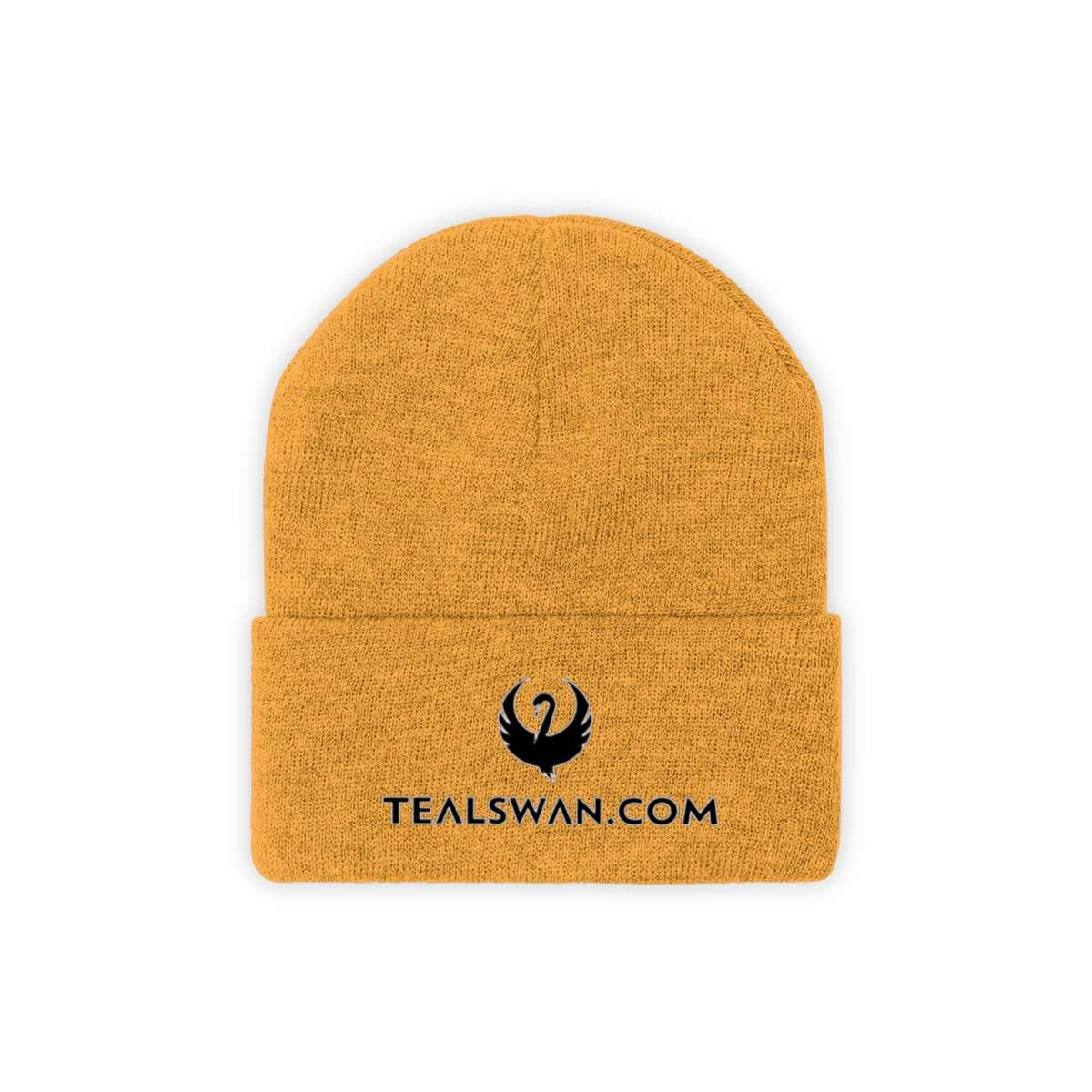 Teal Swan Official Beanie - Black Logo Color