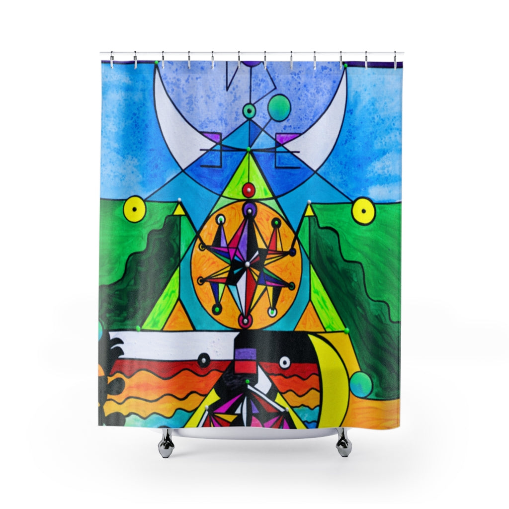 Manifestation Lightwork Model - Shower Curtains