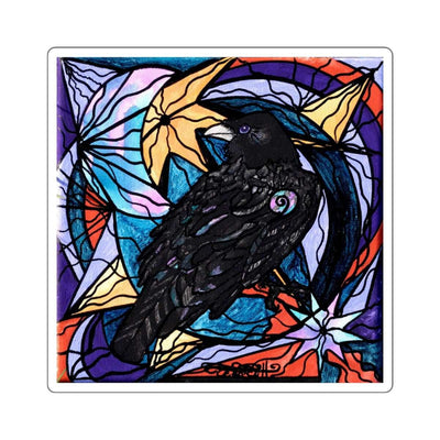 Raven - Square Stickers