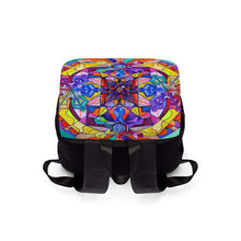 Load image into Gallery viewer, Synchronicity - Unisex Casual Shoulder Backpack