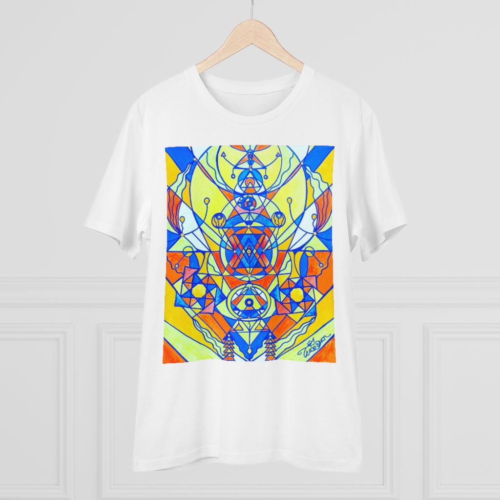Happiness Pleiadian Lightwork Model - Organic T-shirt - Unisex