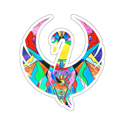 Arcturian Metamorphosis Grid - Swan Stickers