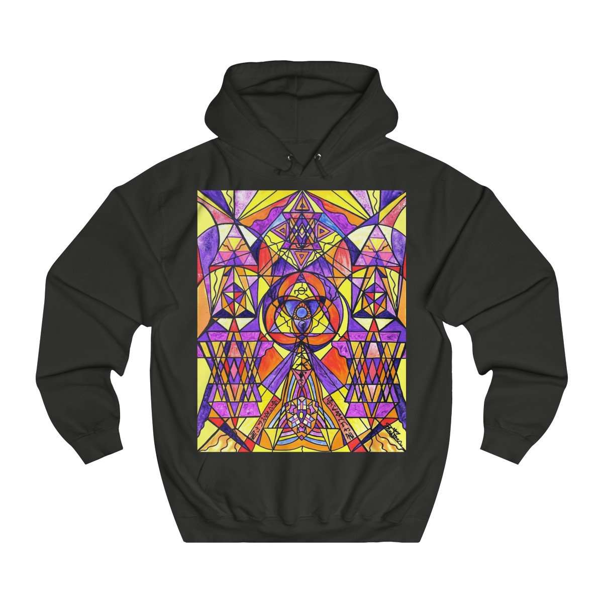 The Destiny Grid - Unisex College Hoodie
