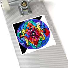 Load image into Gallery viewer, Arcturian Divine Order Grid - Square Stickers