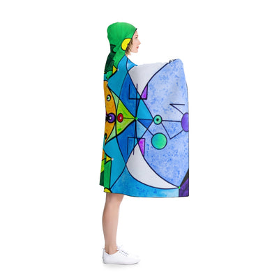 Manifestation Lightwork Model - Hooded Blanket