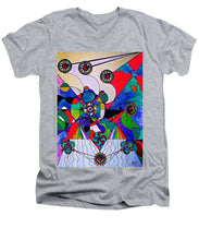 Load image into Gallery viewer, Aether  - Men's V-Neck T-Shirt