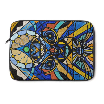 Sirian Solar Invocation Seal - Laptop Sleeve