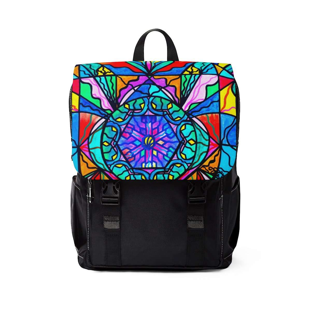 Anahata - Heart Chakra - Unisex Casual Shoulder Backpack