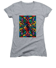 Load image into Gallery viewer, Alignment - Women's V-Neck