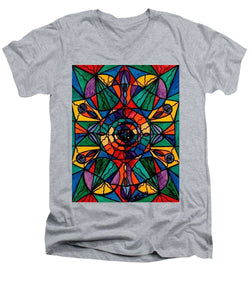Alignment - Men's V-Neck T-Shirt