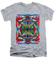 Load image into Gallery viewer, Ameliorate - Men's V-Neck T-Shirt