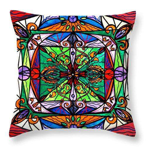 Ameliorate - Throw Pillow