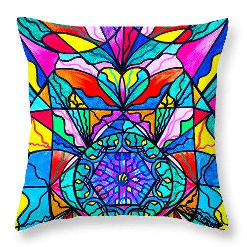 Anahata - Throw Pillow