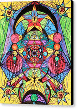 Load image into Gallery viewer, Arcturian Ascension Grid - Canvas Print