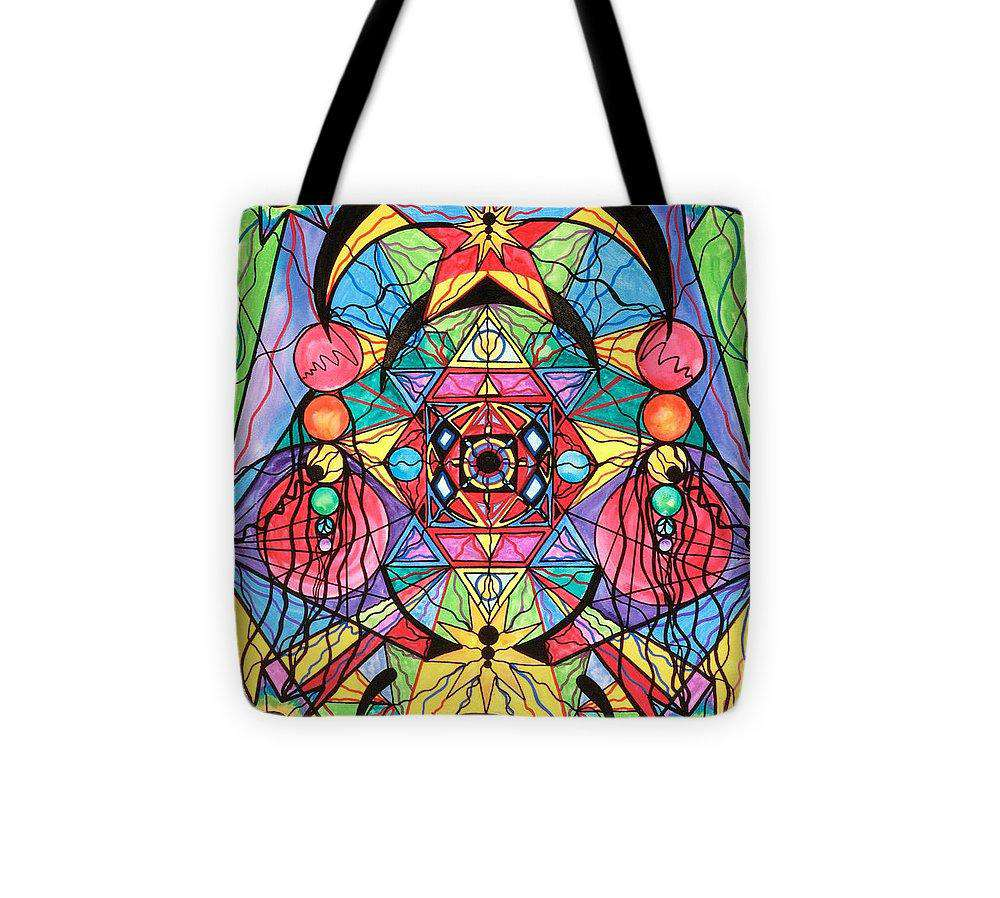 Arcturian Ascension Grid-Tote Bag