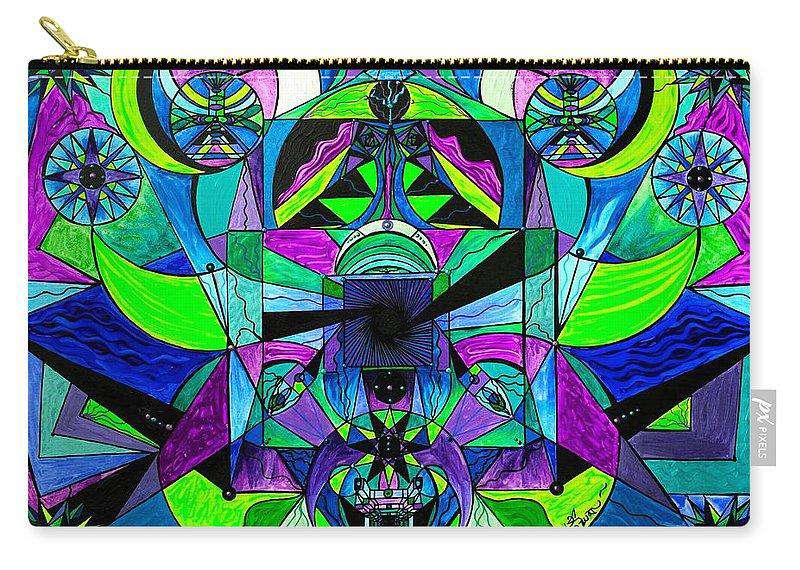 Arcturian Astral Travel Grid  - Carry-All Pouch