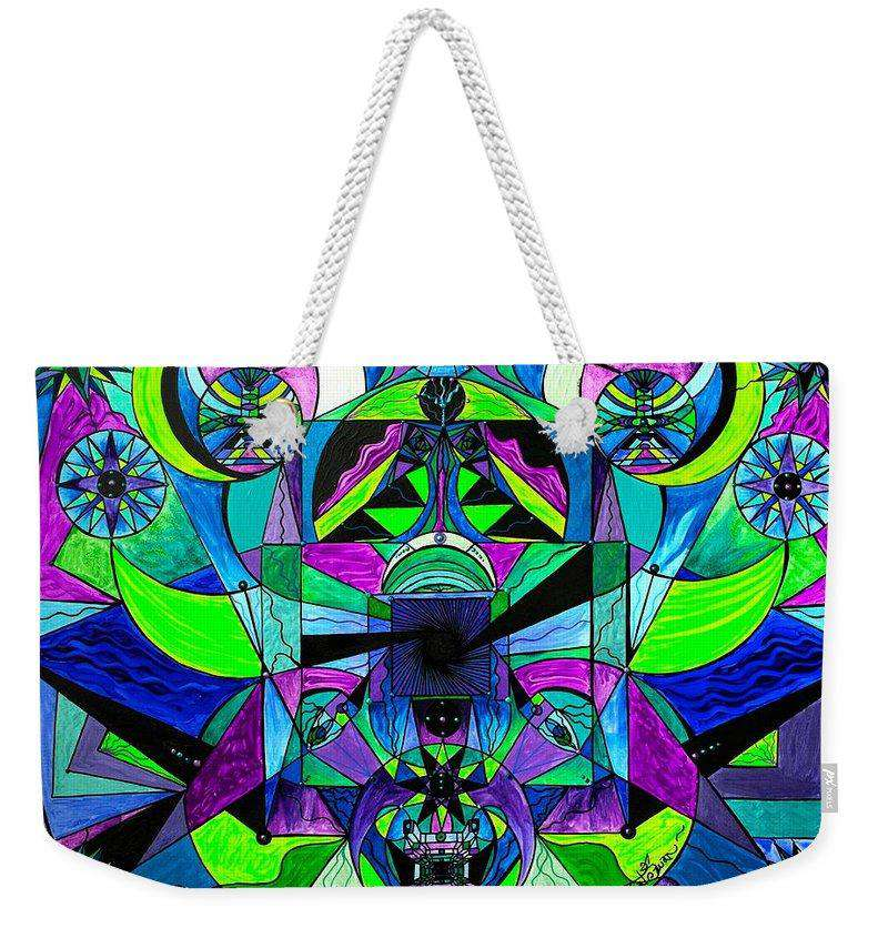 Arcturian Astral Travel Grid  - Weekender Tote Bag