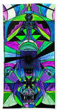Load image into Gallery viewer, Arcturian Astral Travel Grid  - Bath Towel