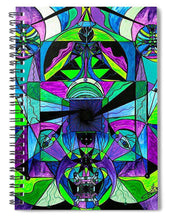 Load image into Gallery viewer, Arcturian Astral Travel Grid  - Spiral Notebook