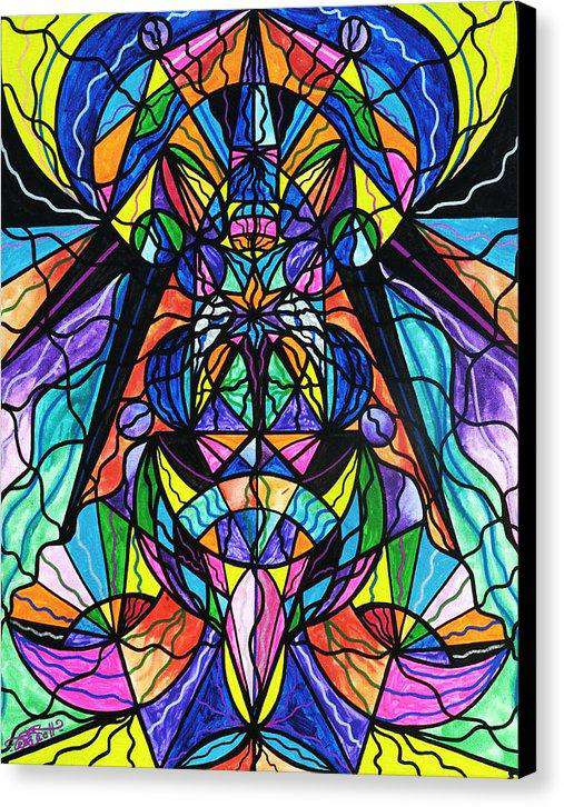 Arcturian Awakening Grid - Canvas Print