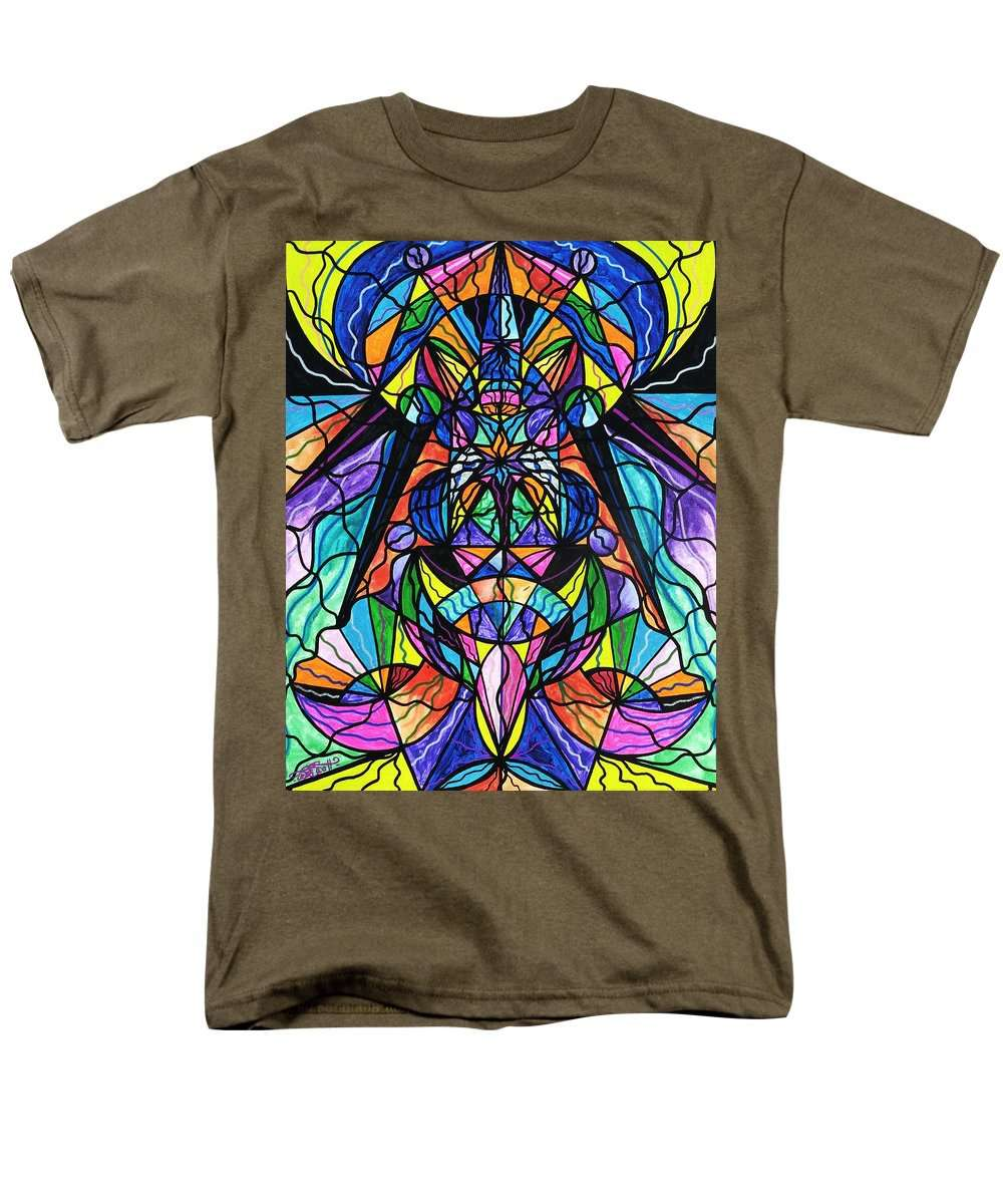Arcturian Awakening Grid - Men's T-Shirt  (Regular Fit)