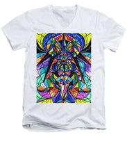 Load image into Gallery viewer, Arcturian Awakening Grid - Men's V-Neck T-Shirt