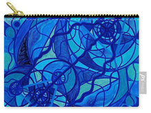 Load image into Gallery viewer, Arcturian Calming Grid - Carry-All Pouch