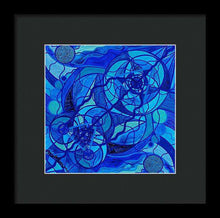 Load image into Gallery viewer, Arcturian Calming Grid - Framed Print