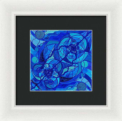 Arcturian Calming Grid - Framed Print
