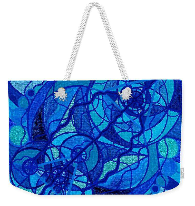 Arcturian Calming Grid-Weekender Tote Bag