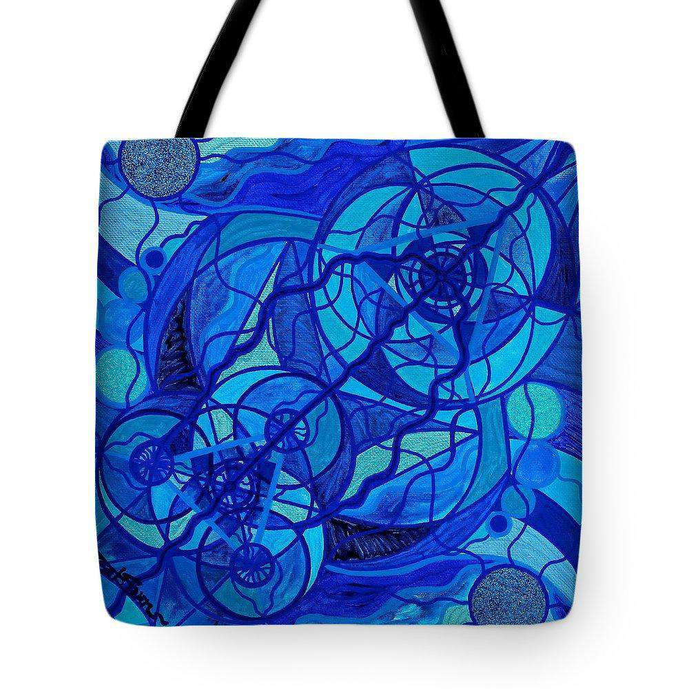 Arcturian Calming Grid - Tote Bag