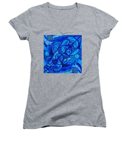 Arcturian Calming Grid - Women's V-Neck