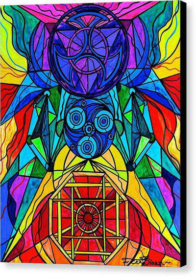 Arcturian Conjunction Grid - Canvas Print
