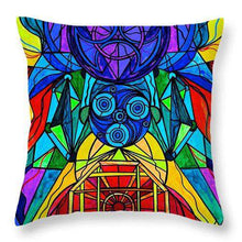 Load image into Gallery viewer, Arcturian Conjunction Grid - Throw Pillow