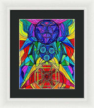 Load image into Gallery viewer, Arcturian Conjunction Grid - Framed Print