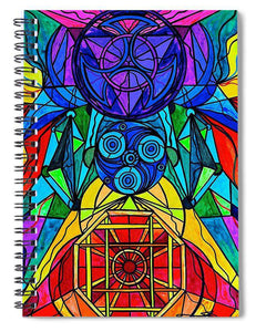 Arcturian Conjunction Grid - Spiral Notebook