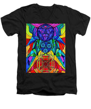Load image into Gallery viewer, Arcturian Conjunction Grid - Men's V-Neck T-Shirt